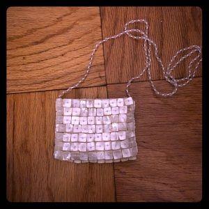 Mother of Pearl crossbody bag